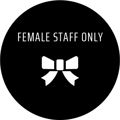 FEMALE STAFF ONLY